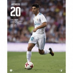 Mini Poster Real Madrid 2017/2018 Asensio
