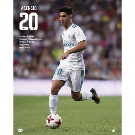 Mini Poster Real Madrid 2017/2018 Asensio