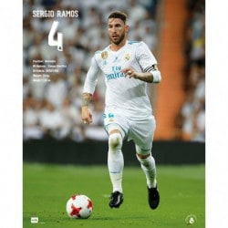Mini Poster Real Madrid 2017/2018 Sergio Ramos
