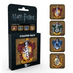 Pack Posavasos Harry Potter Crests