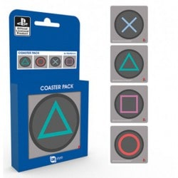 Pack Posavasos Surtido Playstation Buttons