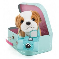 Peluche Studio Pets Bulldog Star