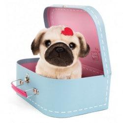 Peluche Studio Pets Pug Snuggle