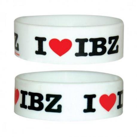 Pulsera Silicona Love Ibiza