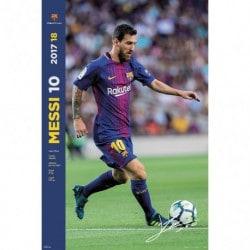 Poster Fc Barcelona 2017/2018 Grupo Jugadores
