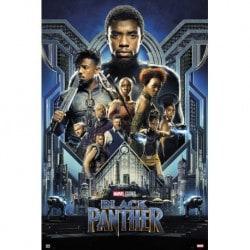 Poster Marvel Black Panther One Sheet