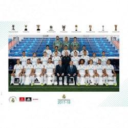 Poster Real Madrid 2017/2018 Plantilla
