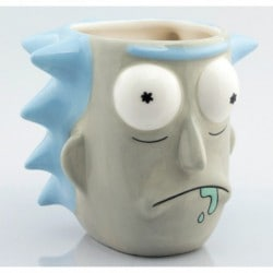 Taza 3D Rick And Morty Rick Sanchez