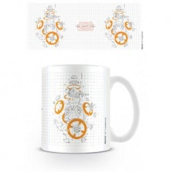 Taza Star Wars VIII Bb-8 Exploded View