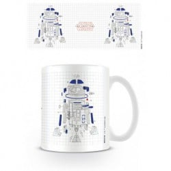 Taza Star Wars VIII R2-D2 Exploded View