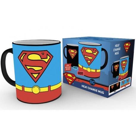 Taza Termica Dc Comics Superman Costume