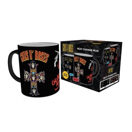 Taza Termica Guns And Roses Cross