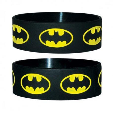 Pulsera Silicona Batman- Logo Repeat