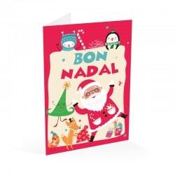Tarjeta Felicitacion Navidad Bon Nadal