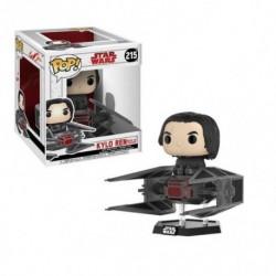 Figura Pop Deluxe Star Wars VIII Tie Fighter W/ Kylo Ren