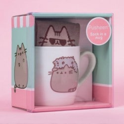 Taza + Calcetín Pusheen Stormy