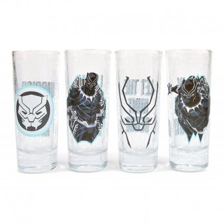 Set de Chupitos Marvel Black Panther