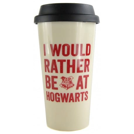Taza de viaje Harry Potter Hogwarts