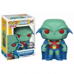 Figura Pop Justice League Animated Martian Manhunter - 9 cm
