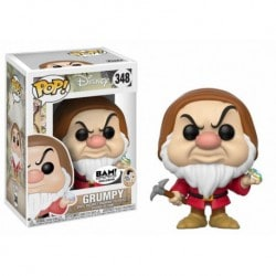 Figura Pop Disney Snow White Grumpy With Diamond Pick - 9 cm