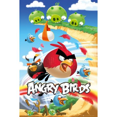 Poster Angry Birds Ataque