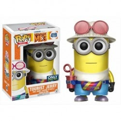 Figura Pop Despicable Me 3 Tourist Jerry - 9 cm