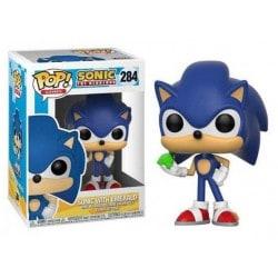 Figura Pop Sonic With Emerald - 9 cm