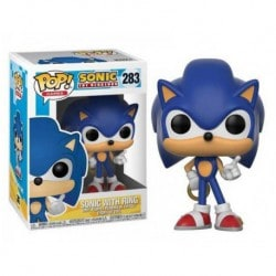 Figura Pop Sonic With Ring - 9 cm