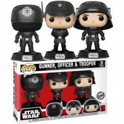 Figura Pop Star Wars 3 Pack Death Star - 9 cm