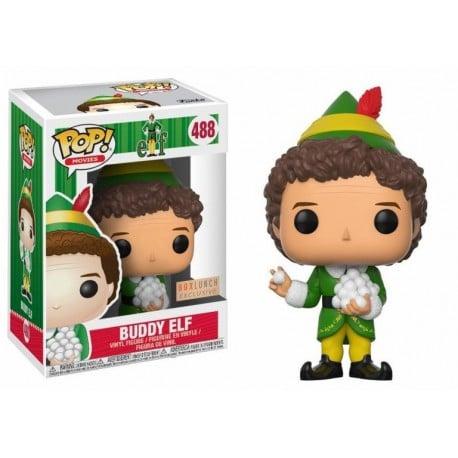 Figura Pop Elf Buddy With Snowballs - 9 cm