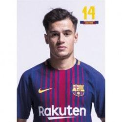 Postal FC Barcelona 2017/2018 Coutinho