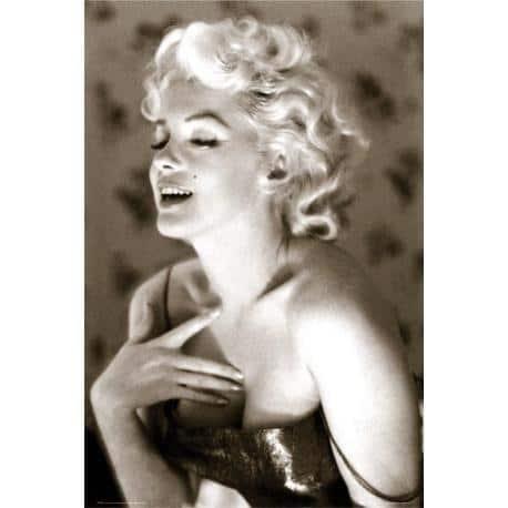 Poster Marilyn Monroe Glow