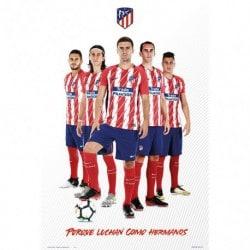 Poster Atletico de Madrid 2017/2018 Grupo Jugadores