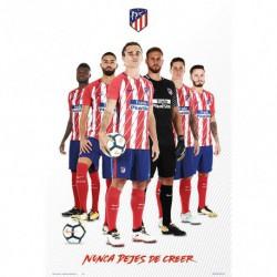 Poster Atletico de Madrid 2017/2018 Grupo Jugadores 2