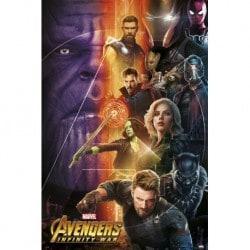 Poster Los Vengadores Infinity War 1
