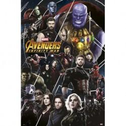 Poster Los Vengadores Infinity War 2