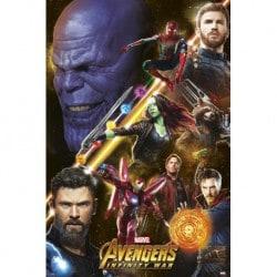 Poster Los Vengadores Infinity War 3