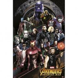 Poster Los Vengadores Infinity War 5