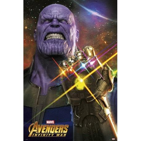 Poster Marvel Los Vengadores Infinity War 6