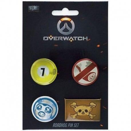 Pack de Chapas Overwatch Roadhog