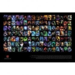 Poster Dota 2 Personajes
