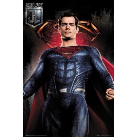 Poster Liga de la Justicia Superman