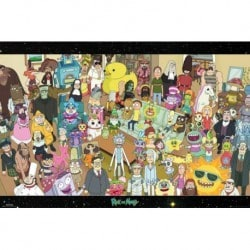 Poster Rick And Morty Personajes