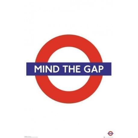Poster Transport For London Mind The Gap