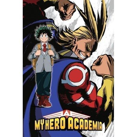 Poster My Hero Academia All Mighty Flex