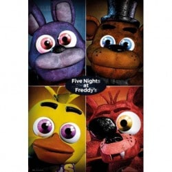 Poster Five Nights at Freddys Squad