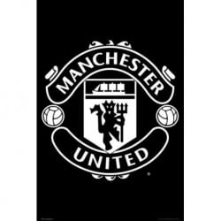 Poster Manchester United Emblema