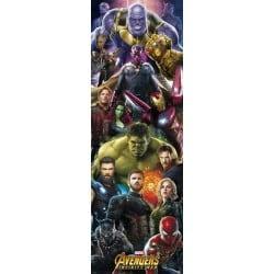 Poster Puerta Marvel Avengers Infinity War