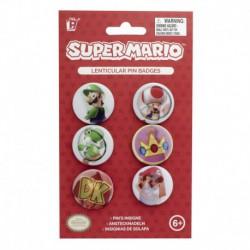 Pack de Chapas lenticulares Super Mario