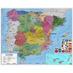 Mini Poster Mapa de España